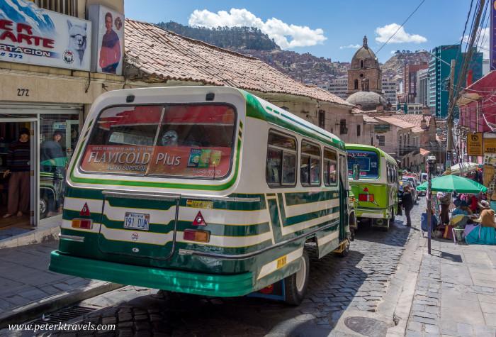 Dodge Bus, La Paz.