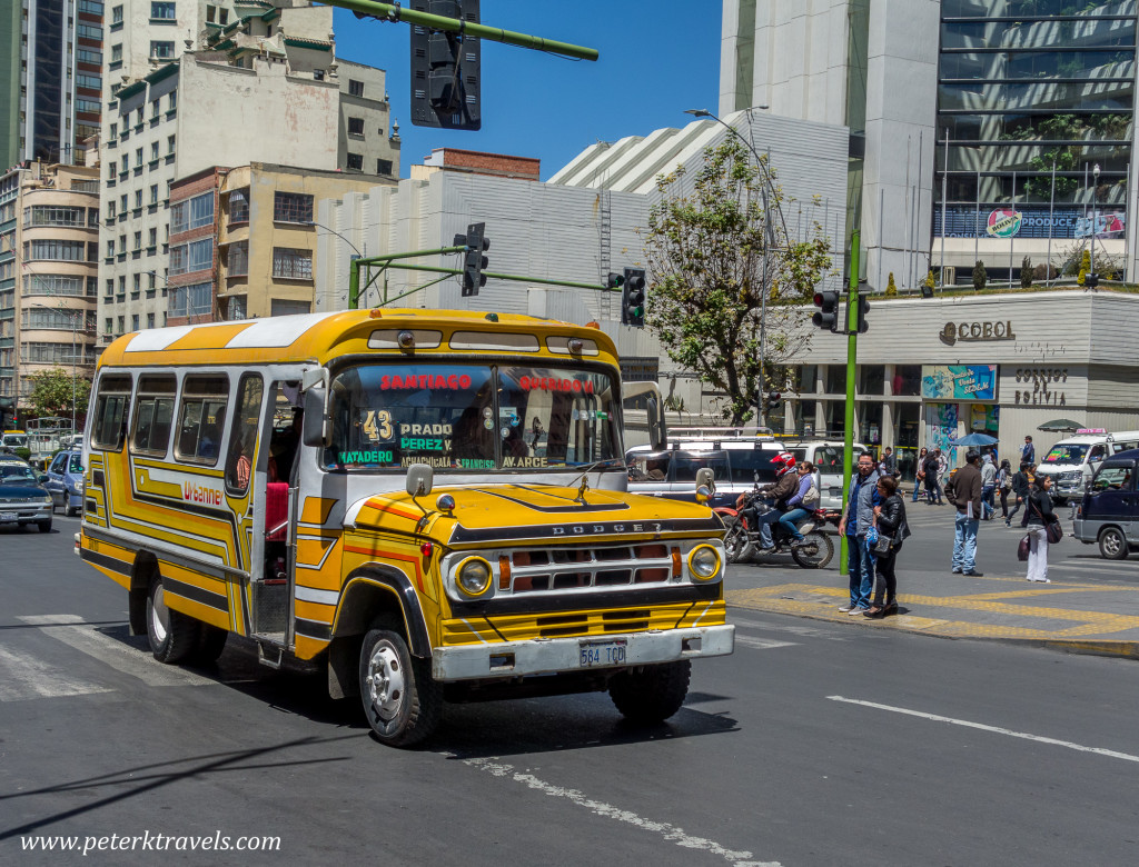 Yellow Bus, La Paz.