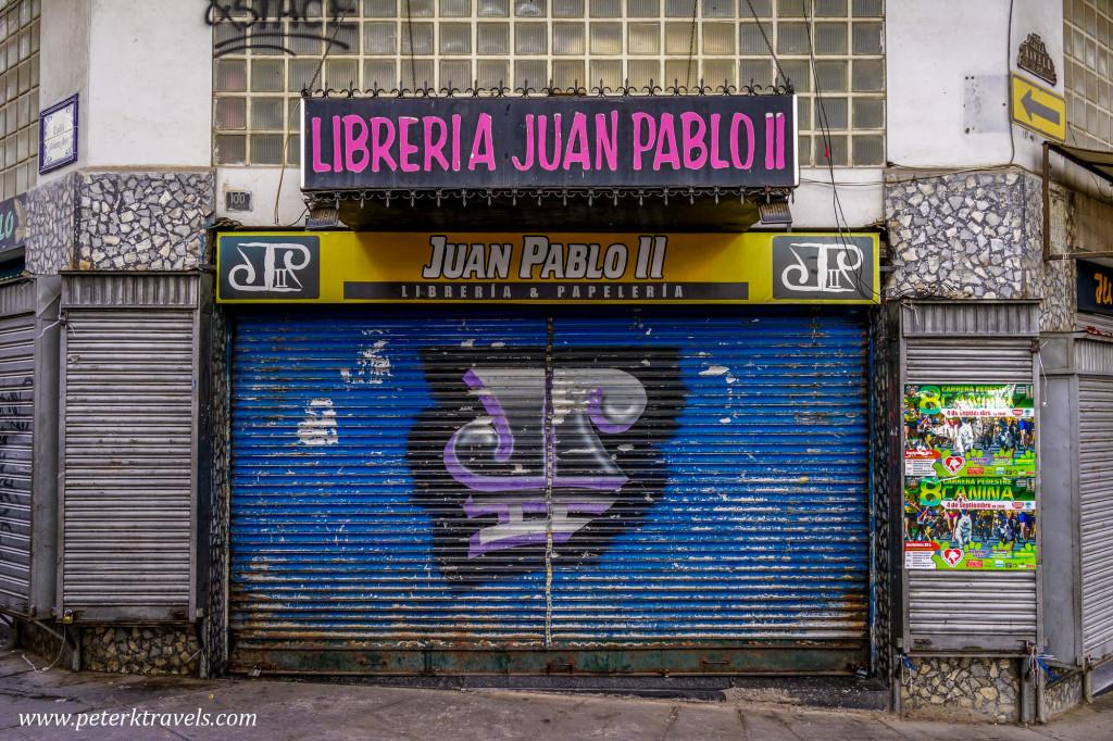 Bookstore, Sucre.