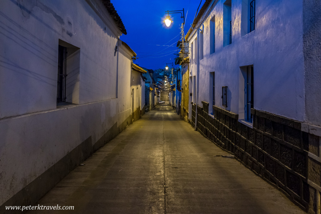 Street, Sucre.