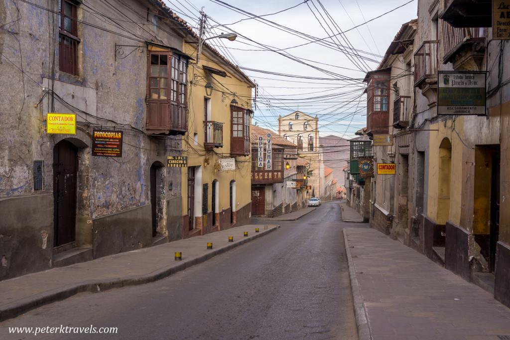 Street view, Potosi