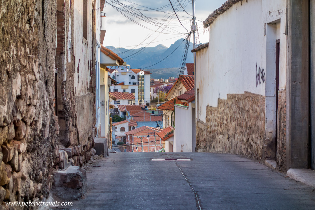 Street view, Sucre.
