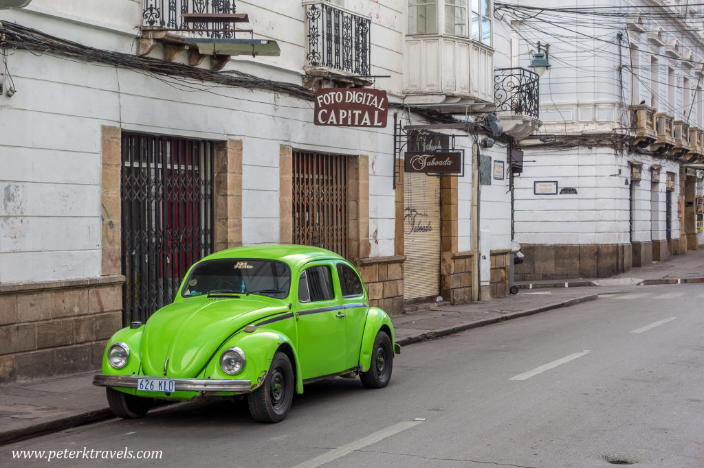 Green VW, Sucre.