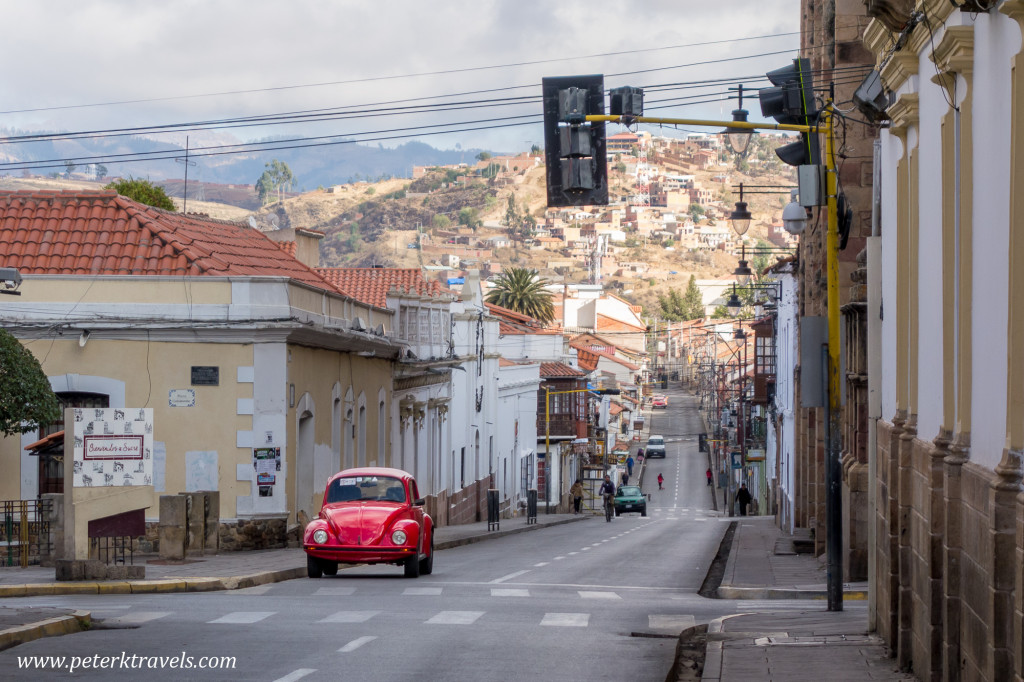 Streetview, Sucre.