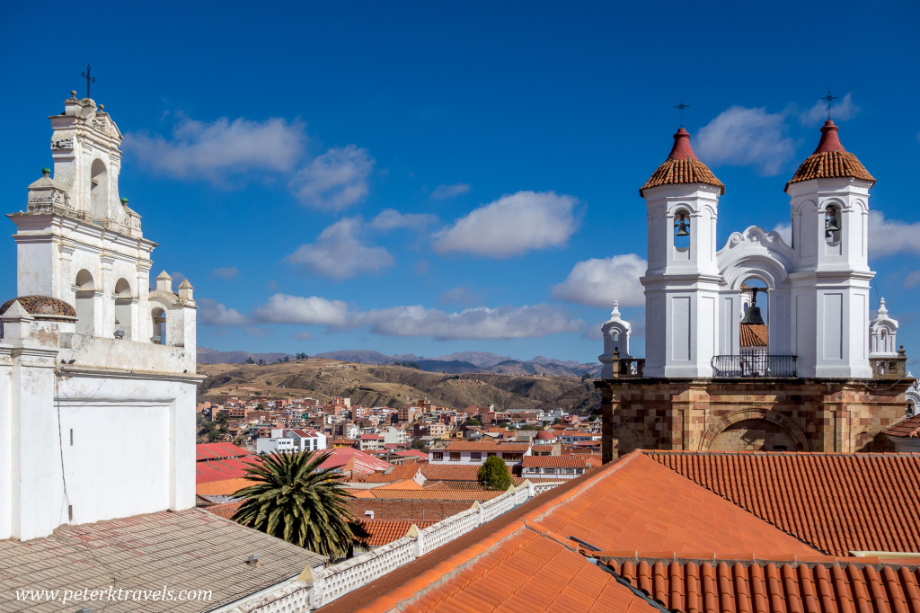 Church towers, Sucre.