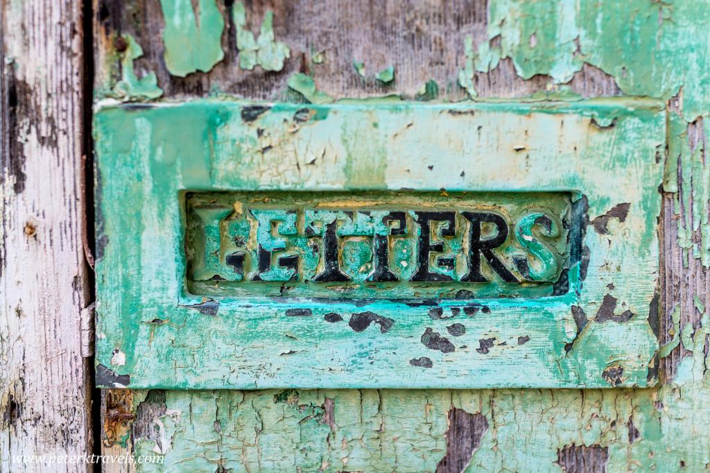 Letter slot, Valletta.