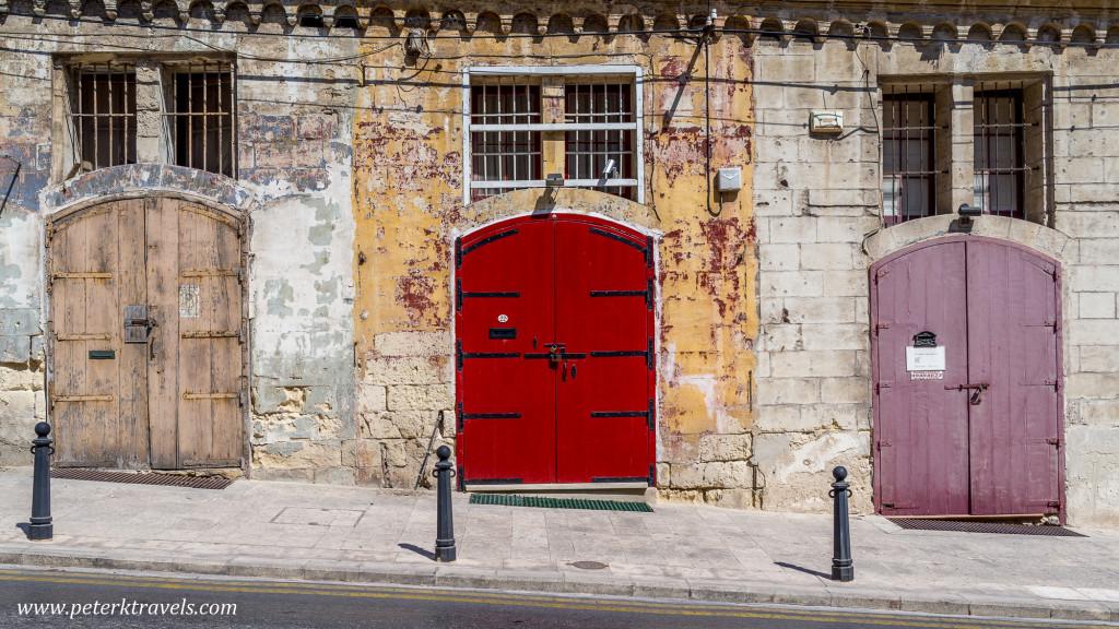 Doors, Valletta.