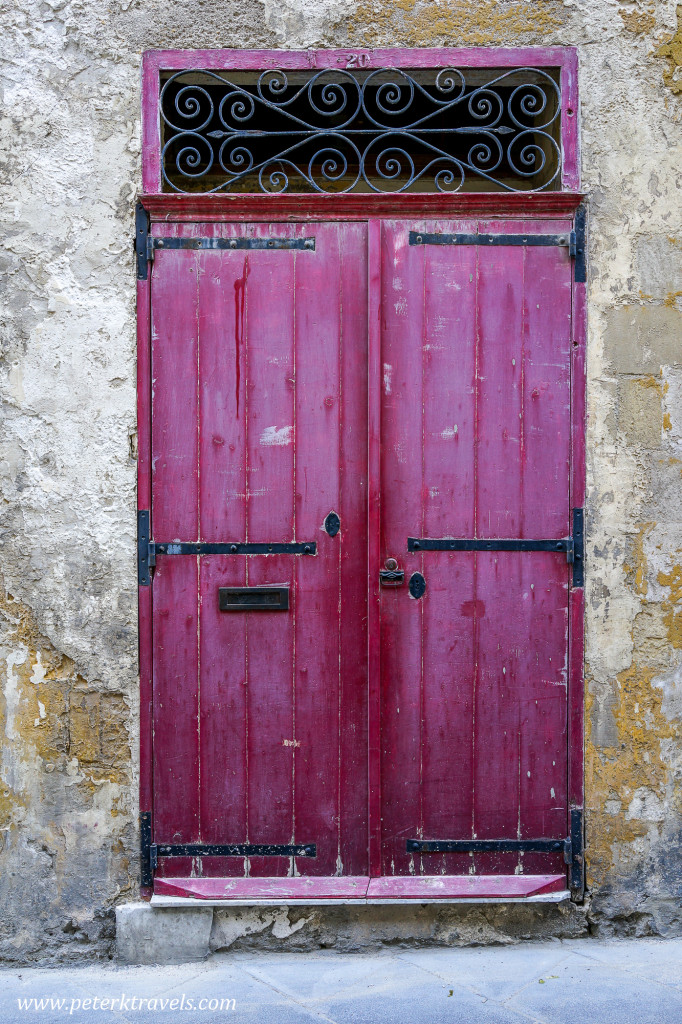 Door, Valletta.