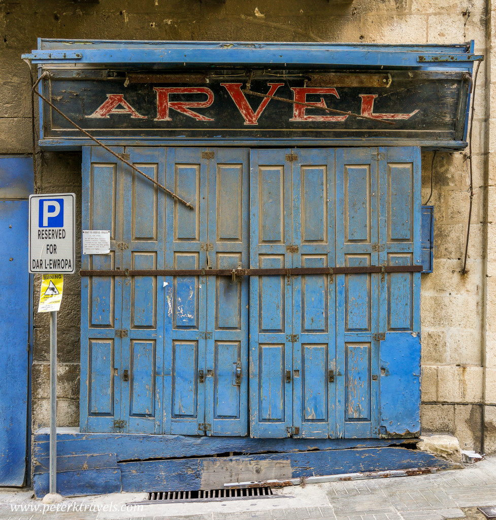 Arvel Door, Valletta.