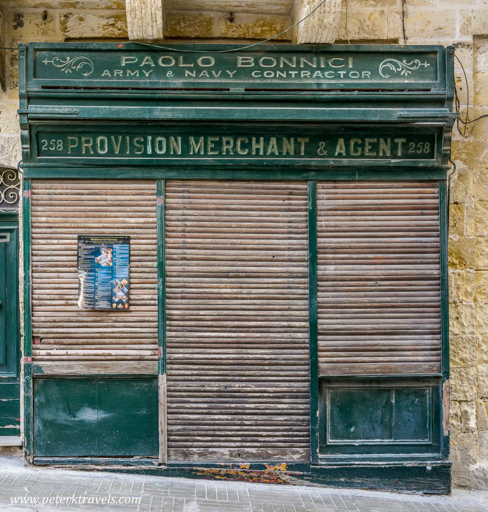 Provision Door, Valletta.