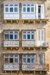Balconies, Valletta.