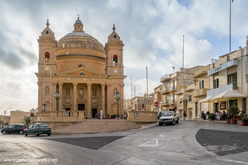 Church at Mgarr, Malta.