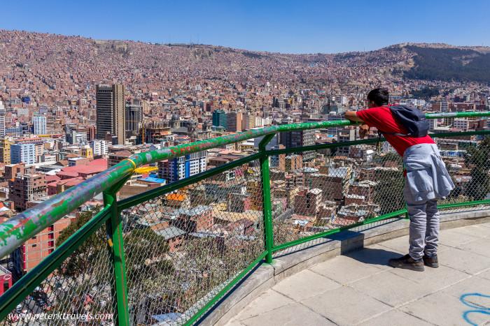 Mirador Killi Killi, La Paz, Bolivia.