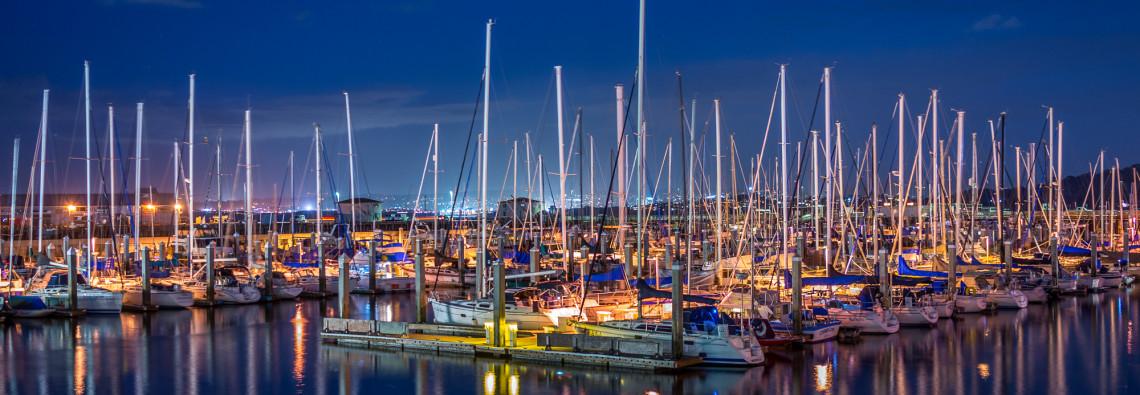 Municipal Marina, Monterey.
