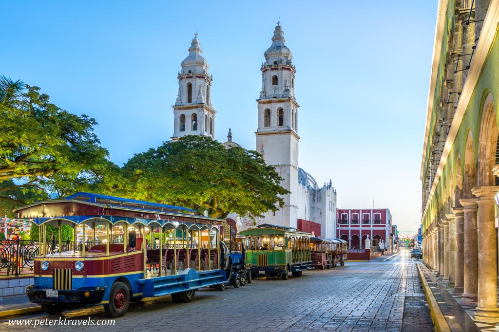 Square, Campeche.