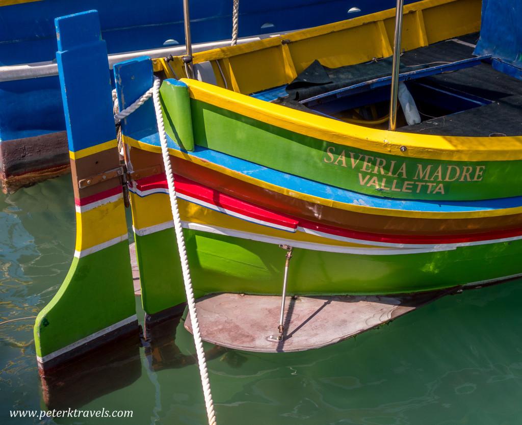 Boats, Marsaxlokk.