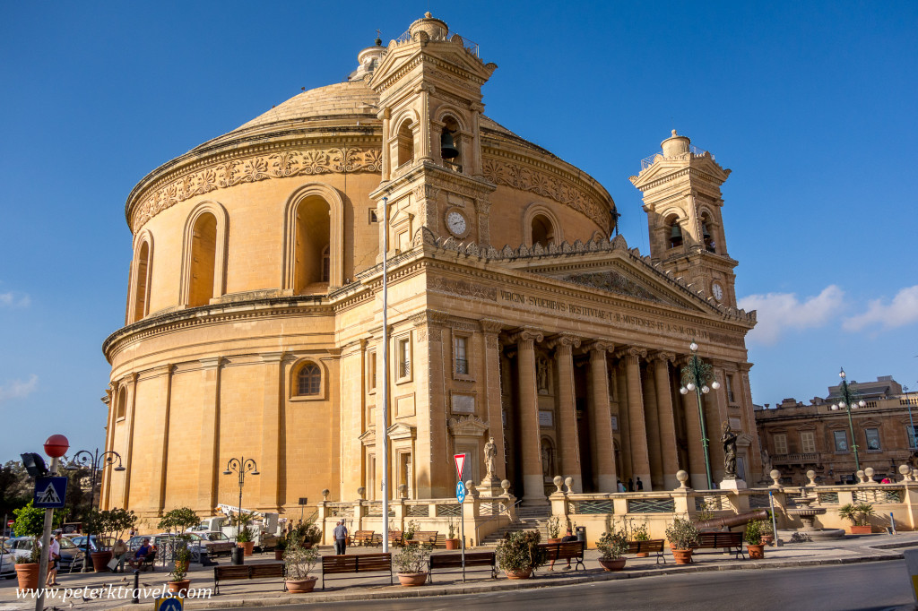 Church at Mosta, Malta.