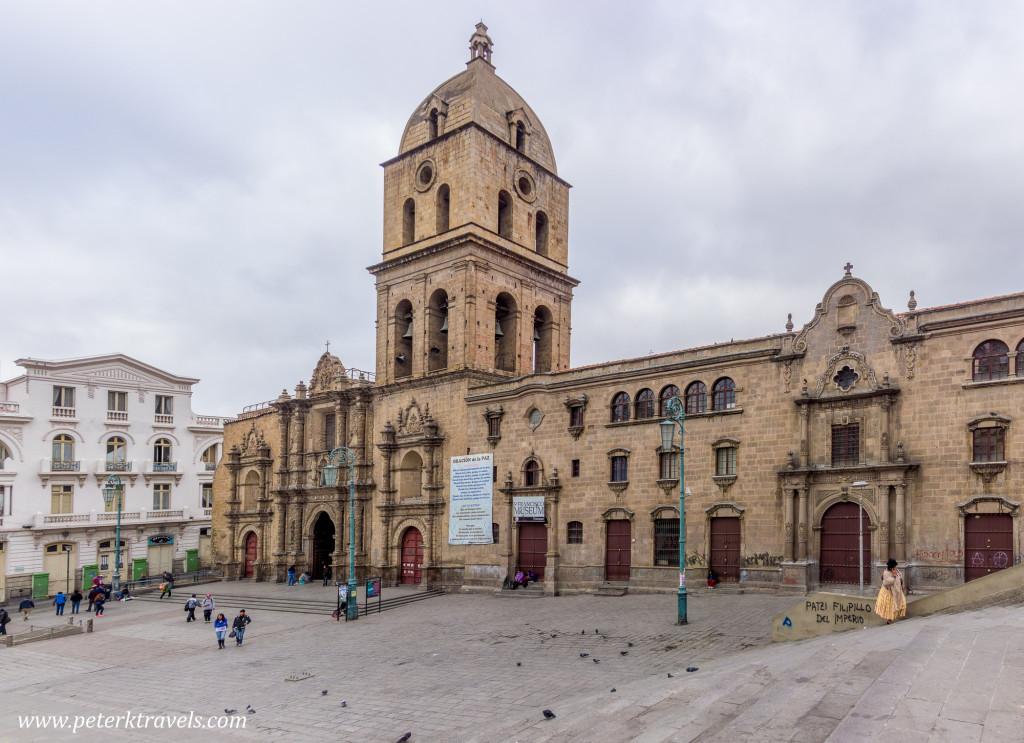 Iglesia San Francisco, La Paz, Bolivia.