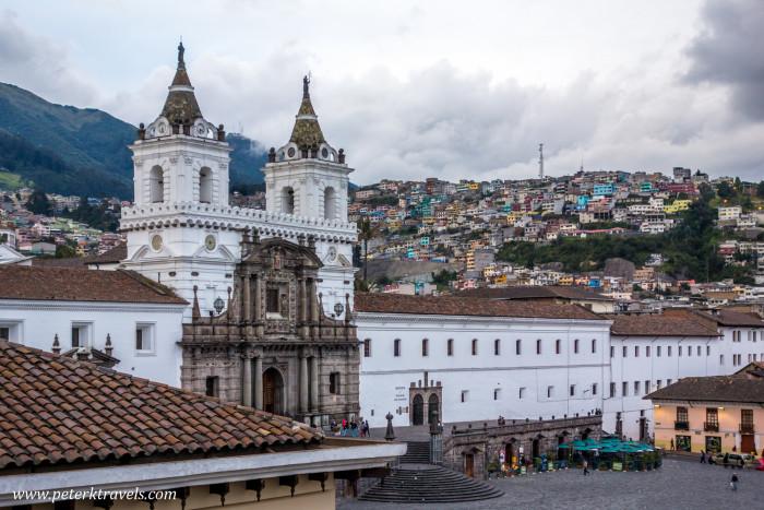 Iglesia de San Francisco, Quito.