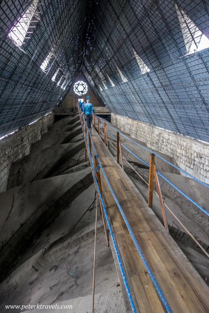 Inside Basilica, Quito.