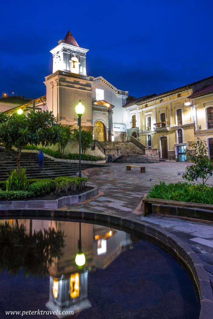Iglesia San Blas, Quito.
