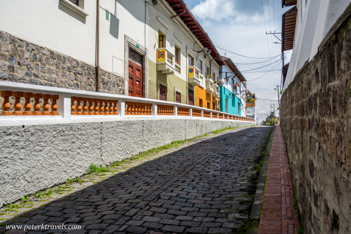 Quito street view.