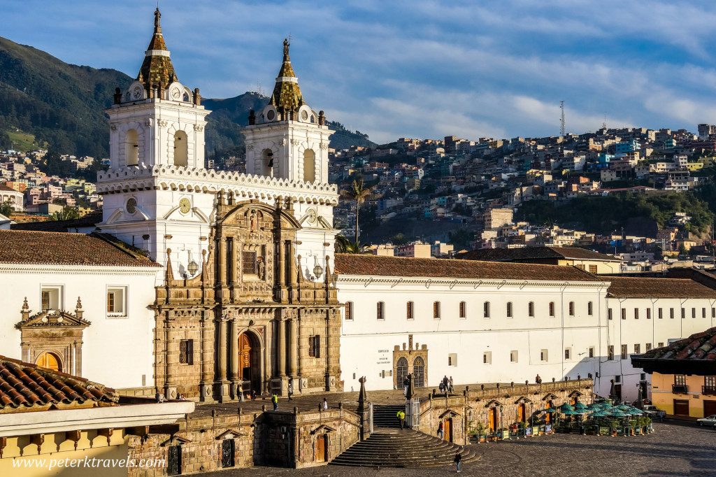 Iglesia de San Francisco, Quito.