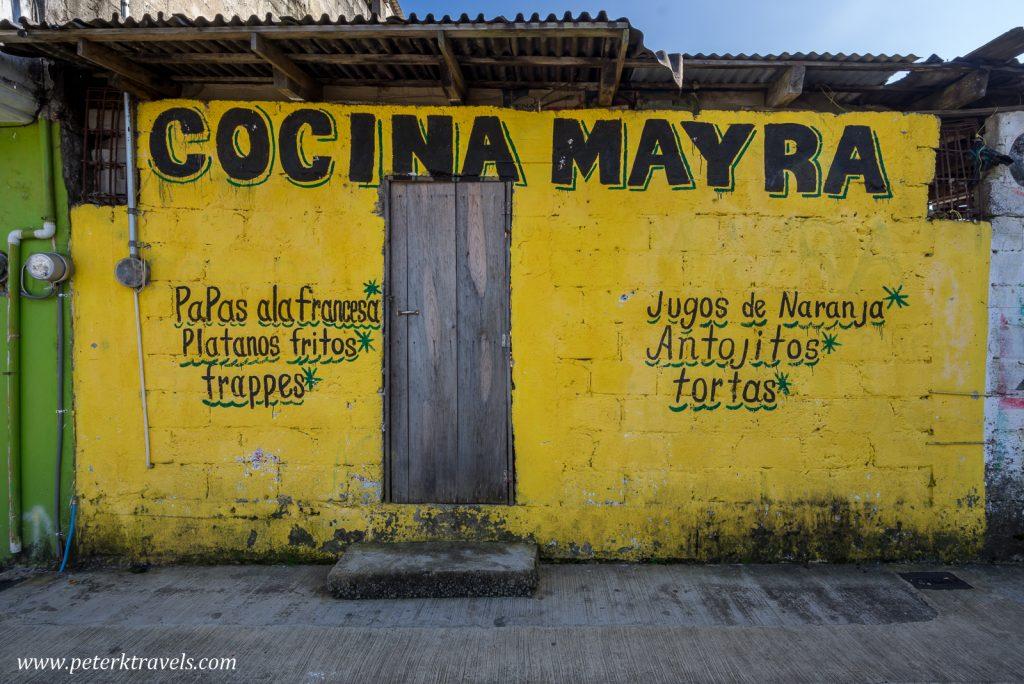 Cocina Mayra, Zacapoaxtla, Puebla.
