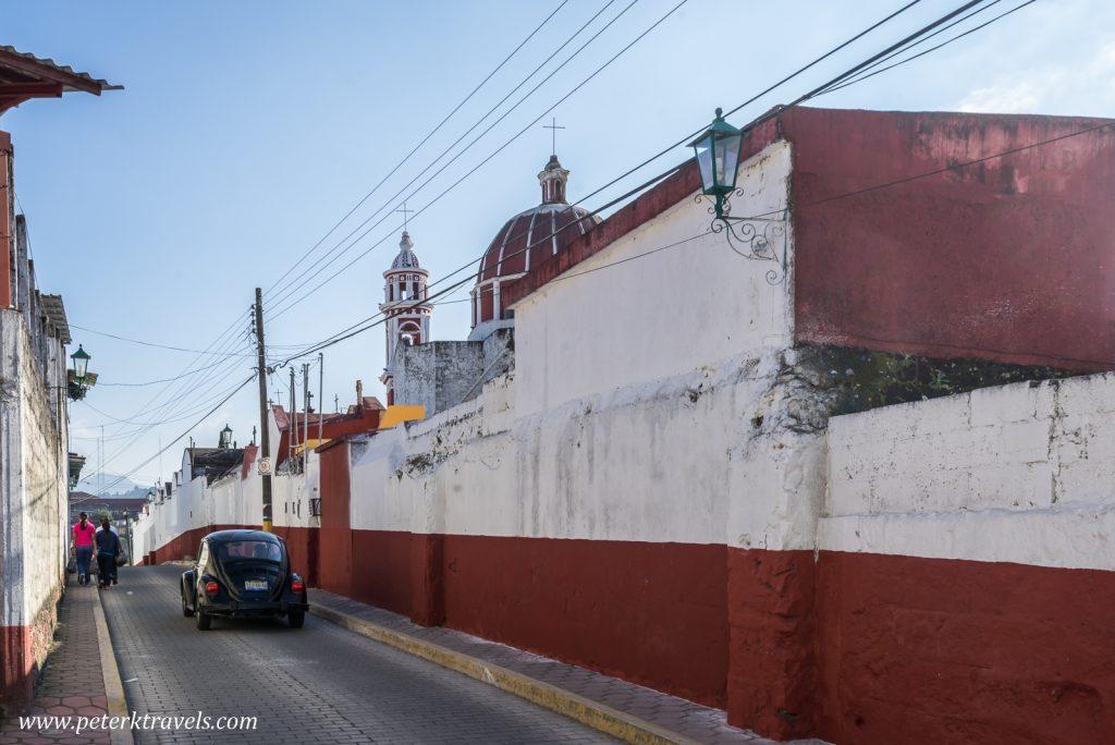 Street, Zacapoaxtla, Puebla.