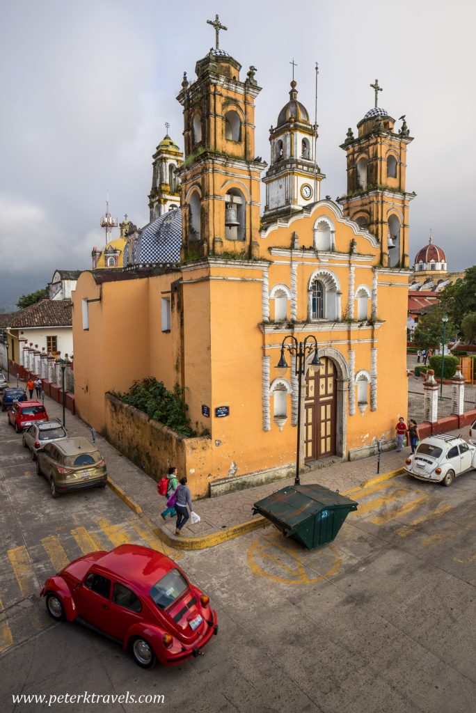 Church, Zacapoaxtla, Puebla.