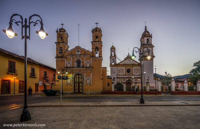 Square, Zacapoaxtla, Puebla.