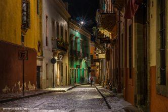Guanajuato street.