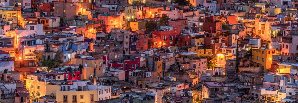 Homes in Guanajuato.