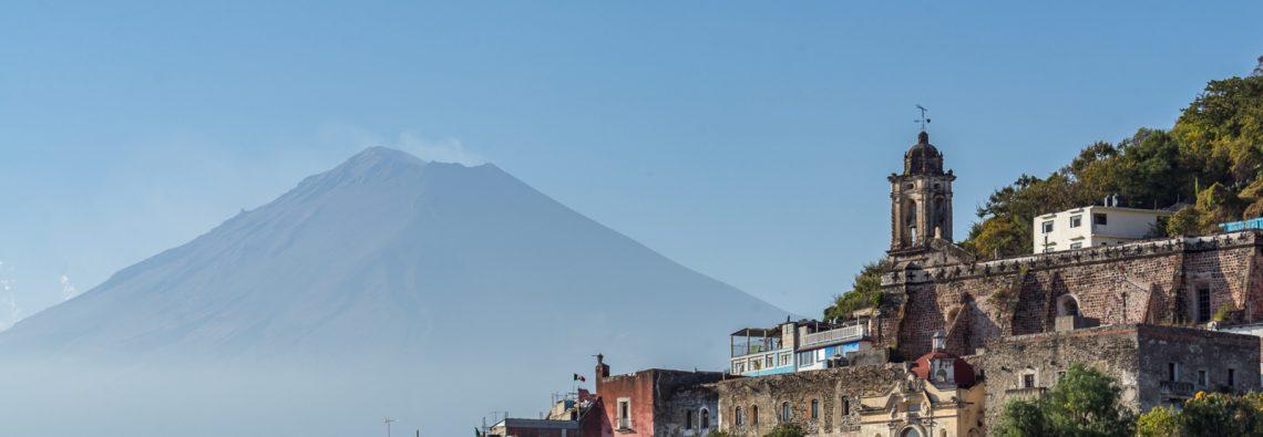 Popocatépetl from Atlixco.