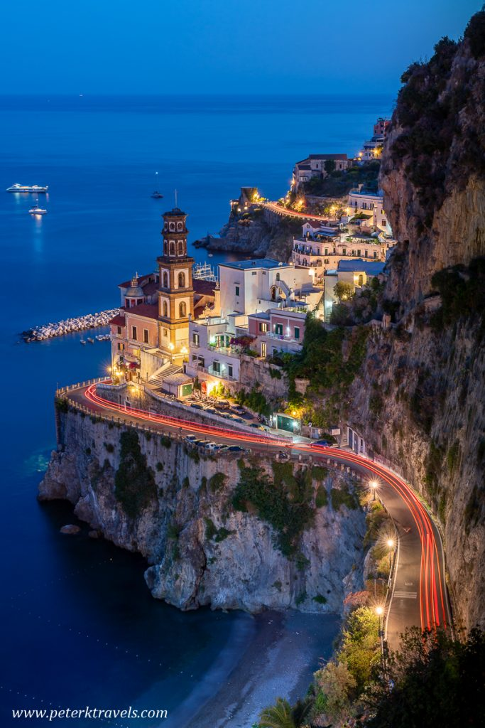 Atrani Light Trails
