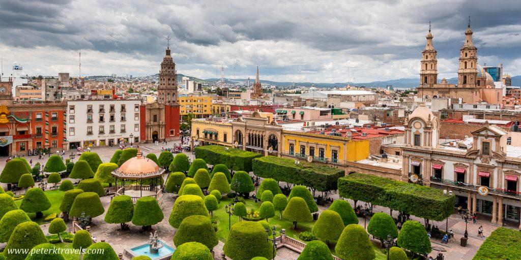 Plaza Principal, Leon, Guanajuato