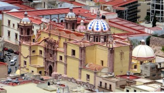 Iglesia de Santo Domingo From Above