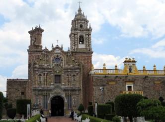 The Church of San Francisco Acatepec