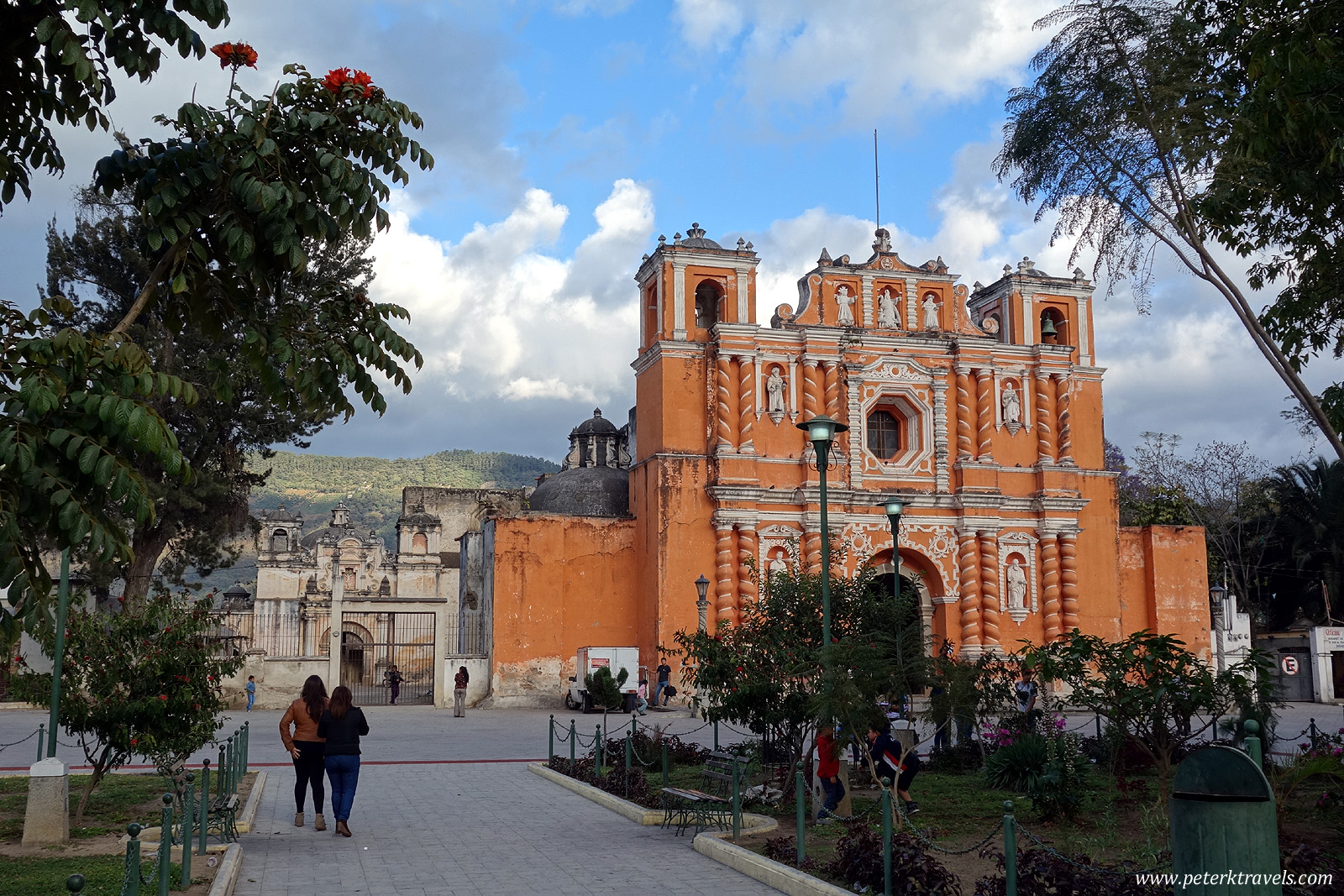 Church in Jocotanango, Guatemala