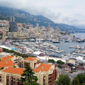 View of Monaco from Monaco-Ville
