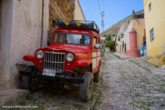 Willys Wagon in Real de Catorce