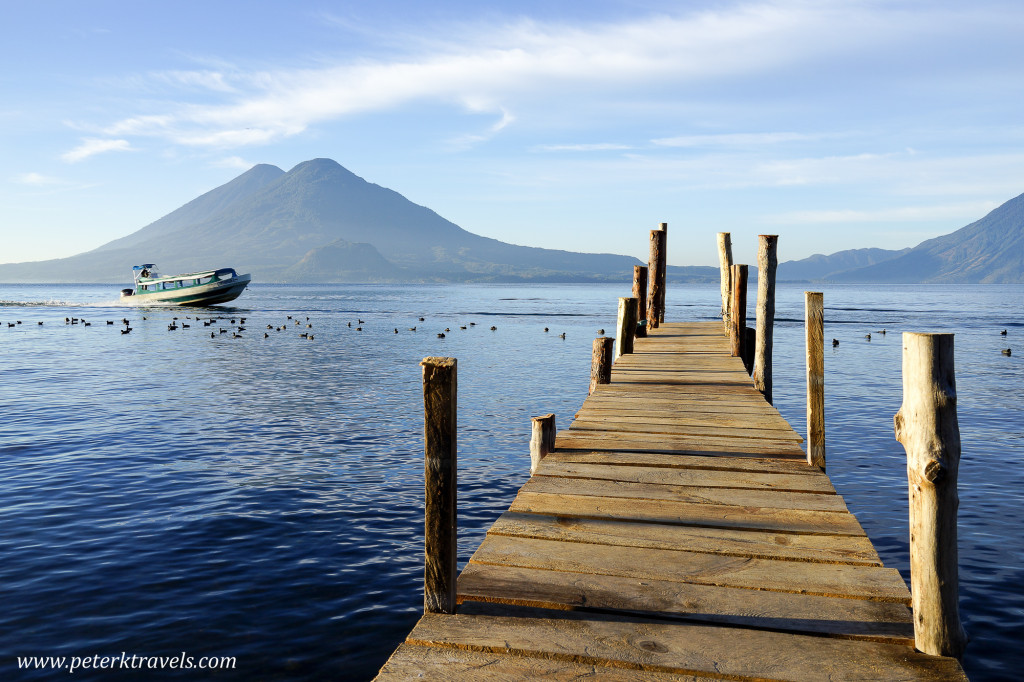 Lake Atitlan Dock, Guatemala