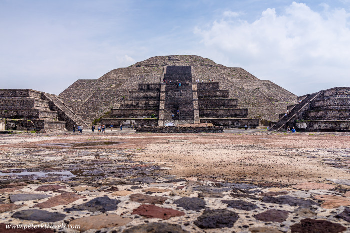Pyramid of the Moon, Teotihuacan.
