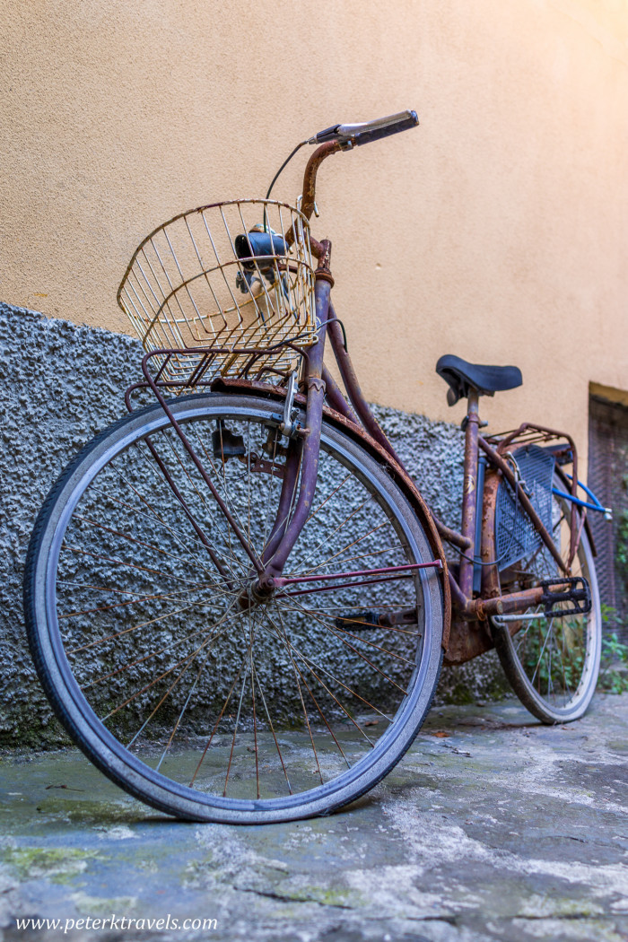 Bicycle, Monterosso al Mare, Italy