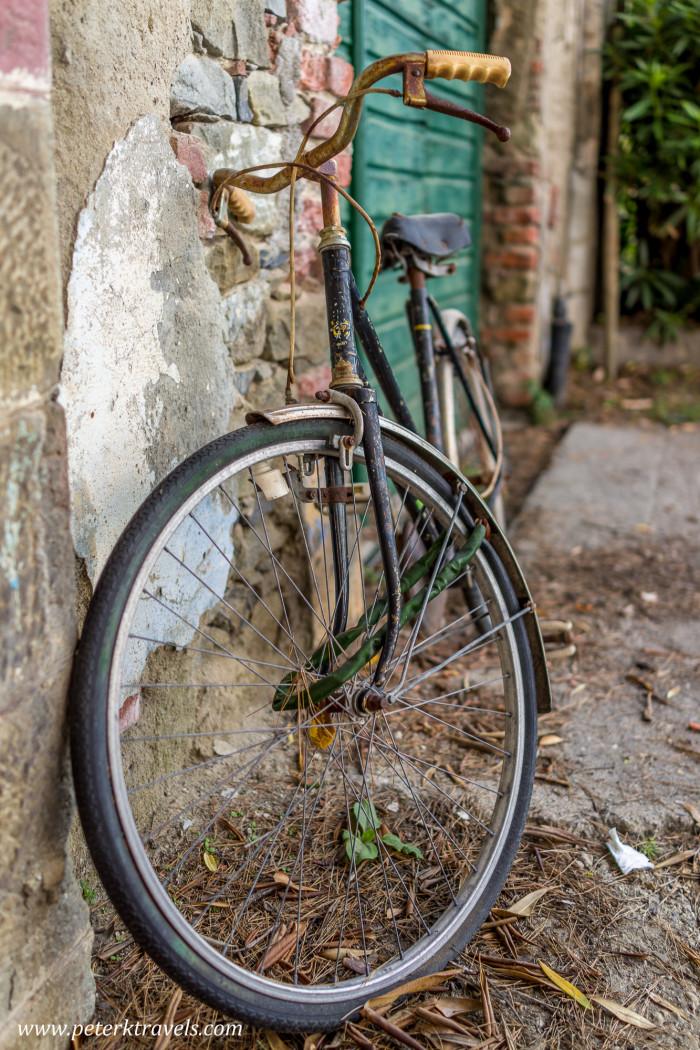 Bicycle, Monterosso al Mare, Italy