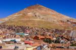 View of Cerro Rico from the Torre de la Compañía de Jesús