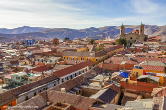 View of Potosi from the roof of Iglesia San Francisco