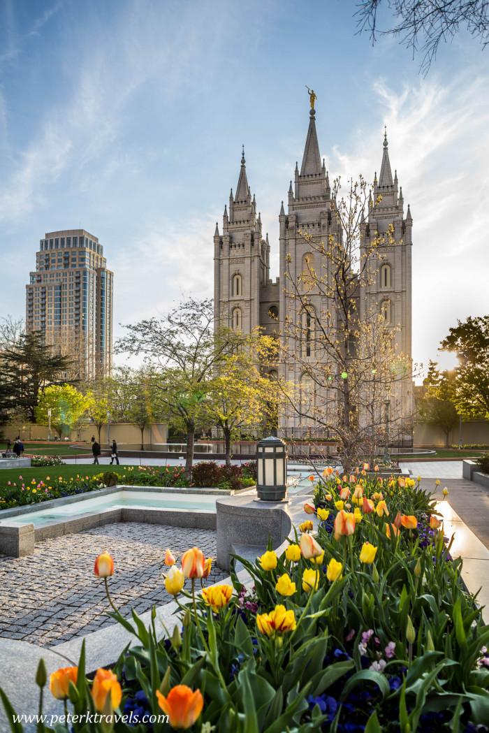 Mormon Temple, Salt Lake City.