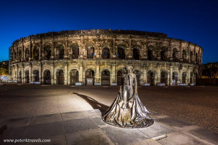 Roman arena, Nimes.