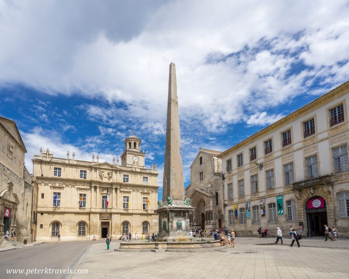 Plaza, Arles